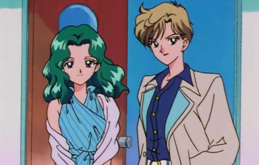 """""""Sailor Urano y Sailor Neptuno pioneras en mostrarse visibles como pareja en el Anime Sailor Moon"""" Foto tomada de themarysue.com - ladesvelada.mx"""
